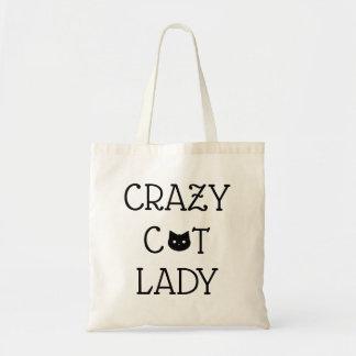 """Tote Bag """"Madame folle"""" Fourre-tout de chat"""