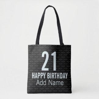 Tote Bag Maille 3D noire