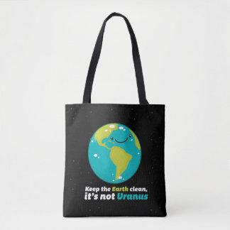 Tote Bag Maintenez la terre propre