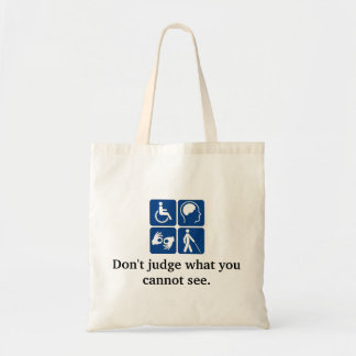 Tote Bag Maladie invisible Fourre-tout