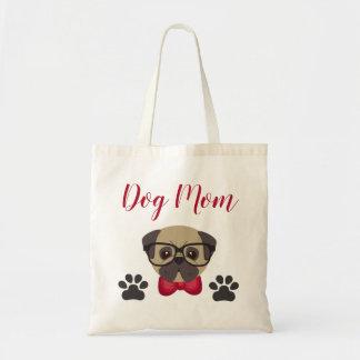 Tote Bag Maman adorable Fourre-tout de chien avec Bowtie et