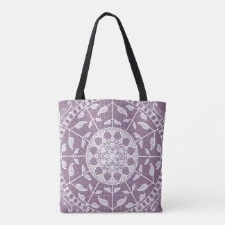 Tote Bag Mandala de glycines