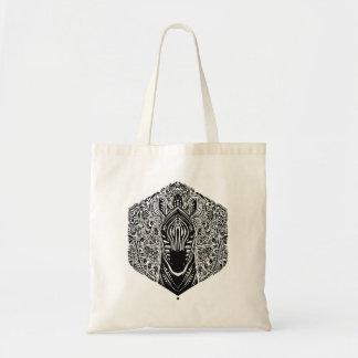 Tote Bag Mandala de zèbre