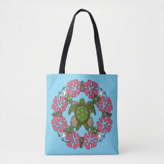 Tote Bag Mandala Fourre-tout de tortue de mer