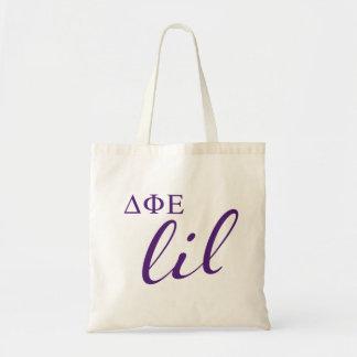 Tote Bag Manuscrit epsilon de Lil de phi de delta