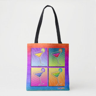 TOTE BAG MARGARITAS D'ART DE POP