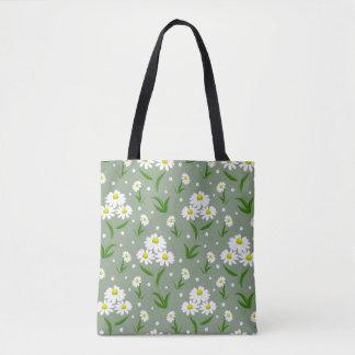 Tote Bag Marguerites blanches Fourre-tout