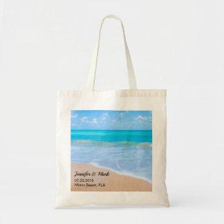 Tote Bag Mariage tropical de scène de plage extraordinaire