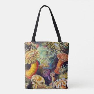 Tote Bag Marine d'actinies d'Ernst Haeckel : Actiniae