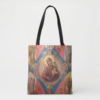 Tote Bag Mary, Jésus, et anges