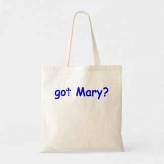 Tote Bag Mary obtenue ?
