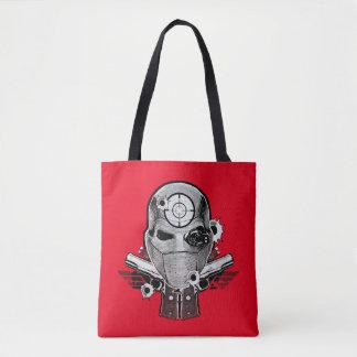 Tote Bag Masque du peloton | Deadshot de suicide et art de
