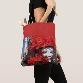 Tote Bag Masque rouge de carnaval à Venise, Italie