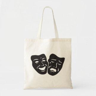 Tote Bag Masques de théâtre de drame de tragédie de comédie