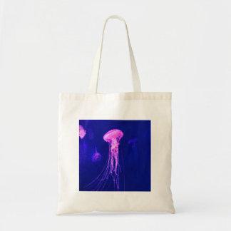 Tote Bag Méduses roses au néon