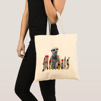Tote Bag Meerkat avec le logo de Meerkats,