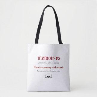 Tote Bag Mémoires, souvenirs - échos du passé