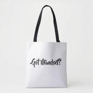 Tote Bag Mentalité obtenue… donnant des leçons