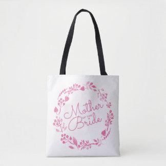 Tote Bag Mère de la guirlande d'automne de jeune mariée