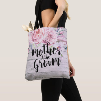 Tote Bag Mère de mariage du bois floral d'aquarelle de