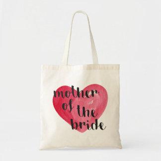 Tote Bag Mère du coeur Fourre-tout de jeune mariée