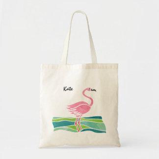 Tote Bag Mignon à la mode personnalisé par flamant rose