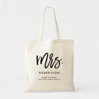 Tote Bag Mme élégante du professeur | Personalized Bag pour