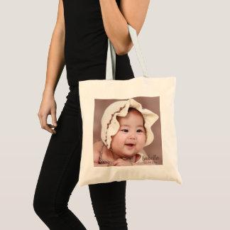 Tote Bag Modèle photo doux de bébé