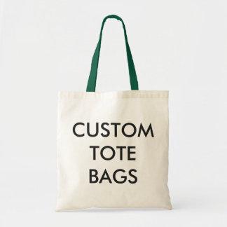 Tote Bag Modèle vide de Fourre-tout de budget personnalisé