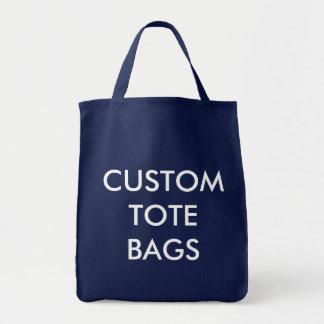 Tote Bag Modèle vide de Fourre-tout d'épicerie personnalisé