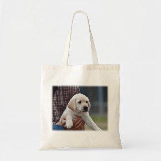 Tote Bag Mon Labrador jaune