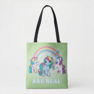 Tote Bag Mon petit rétro  Les licornes sont réelles