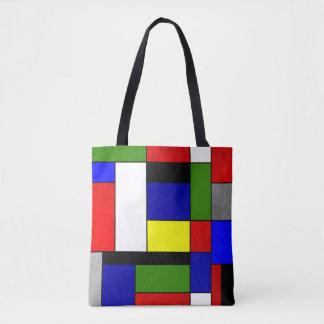 Tote Bag Mondrian #4