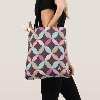 Tote Bag Motif coloré de cercle d'amusement décoré d'un