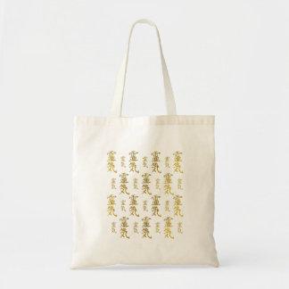 Tote Bag Motif curatif de symboles de Reiki