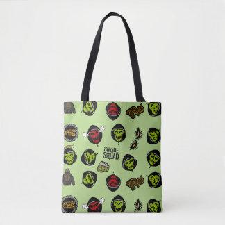 Tote Bag Motif de Croc Emoji de tueur du peloton | de
