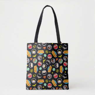 Tote Bag Motif de héros et de logos de ligue de justice de