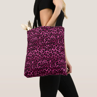 Tote Bag Motif de léopard de roses indien