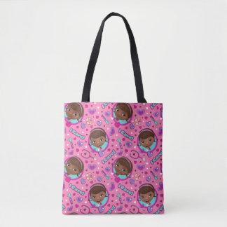 Tote Bag Motif de rose de soin de Doc. McStuffins | I