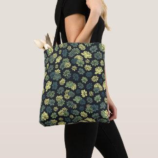 Tote Bag Motif de Succulents