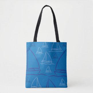 Tote Bag Motif de yacht