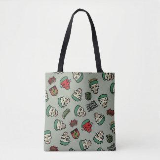 Tote Bag Motif d'Emoji de drapeau du peloton | Rick de
