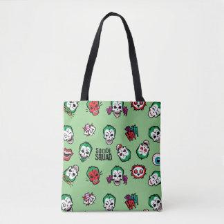 Tote Bag Motif d'Emoji de joker du peloton | de suicide