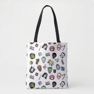Tote Bag Motif d'Emoji de peloton de suicide du peloton |