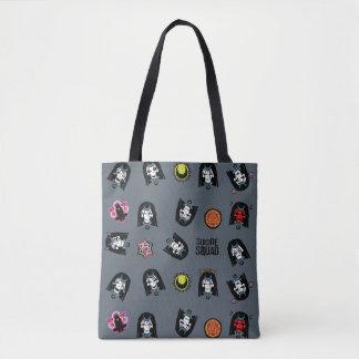 Tote Bag Motif d'Emoji d'enchanteresse du peloton | de