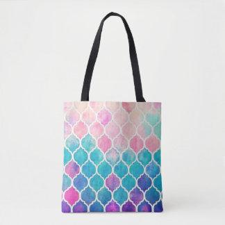 Tote Bag Motif en pastel de Quatrefoil