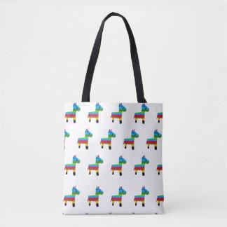 Tote Bag Motif Fourre-tout de Pinata de Burro