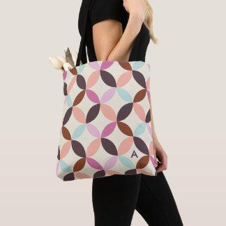 Tote Bag Motif géométrique coloré d'amusement décoré d'un