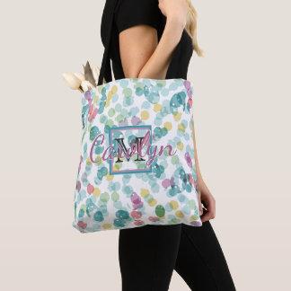 Tote Bag Motif heureux génial fait sur commande de à petits