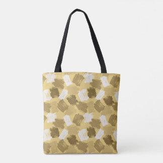 Tote Bag Motif jaune boueux de limandes